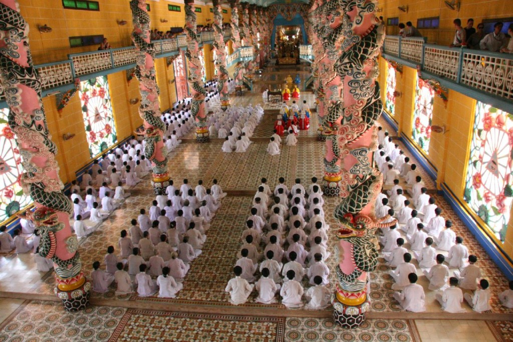 Holy See Temple in Tay Ninh.