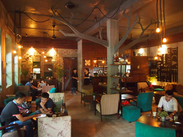 A Wonderful space for coffee in Ho Chi Minh City
