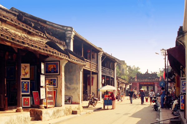 Ancient streets in Hoi An