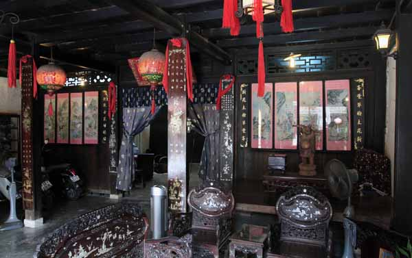 Architecture inside Phung Hung House
