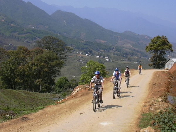 Cycling in Northerst of Vietnam