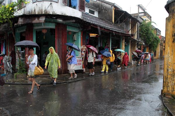 Hoi An in rainy days