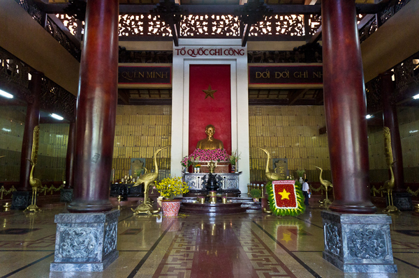 The main hall of Ben Duoc Temple