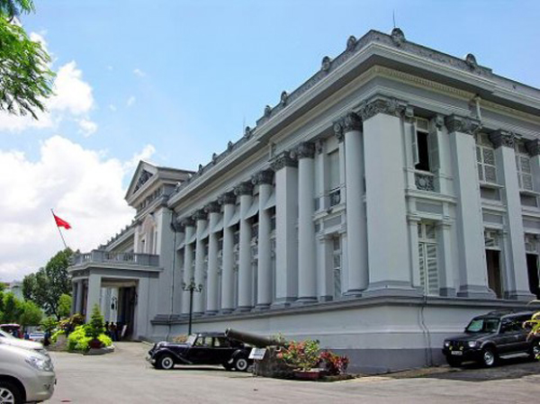 Museum of the Revolution in Ly Tu Trong Street, Ho Chi Minh City