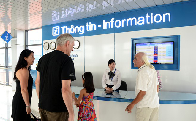 With information desk in the lobby, all passengers will be able to ask the necessary information for the flight.