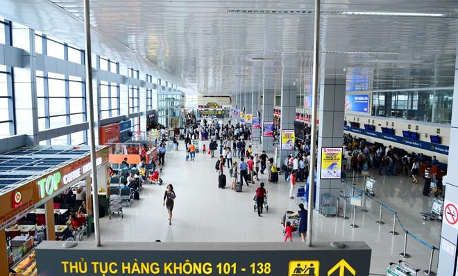 Lobby E2 of Noi Bai Air Terminal T2