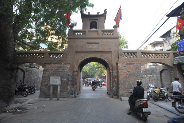 O Quan Chuong, the Gate of the Commander of the Garrison