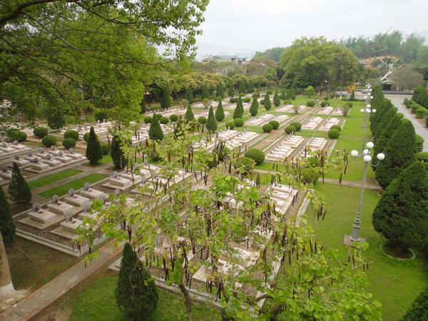 Revolutionary Heroes' Cemetery in Dien Bien Phu