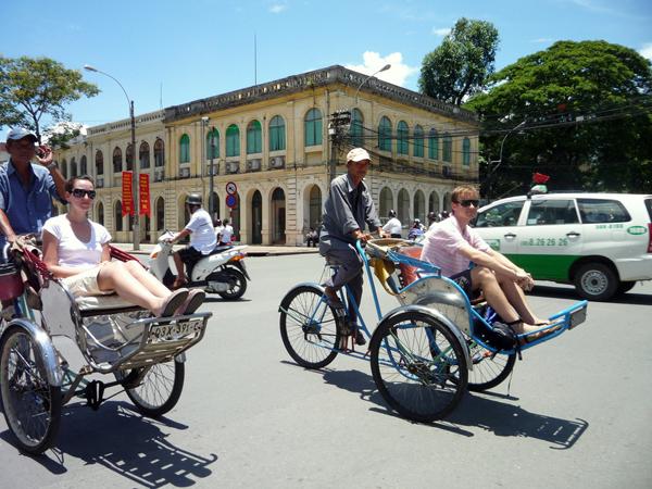 Saigon - Ho Chi Minh City Cyclo Tours