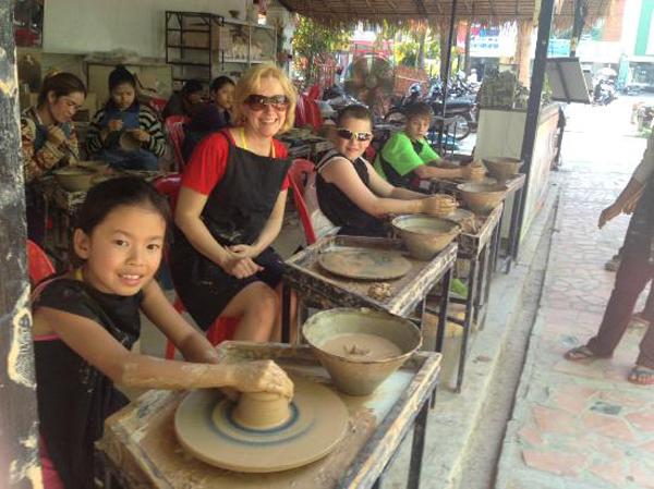 The Khmer Ceramic & Fine Arts Centre in Siem Reap