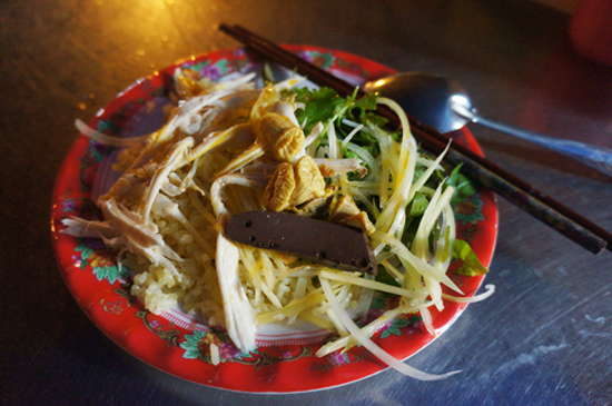 Chicken rice in Hoi An