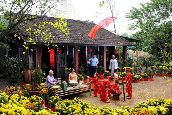 Vietnam New Year - Tet Holiday is the time for sharing and caring