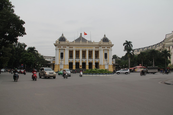 The Opera House of Hanoi