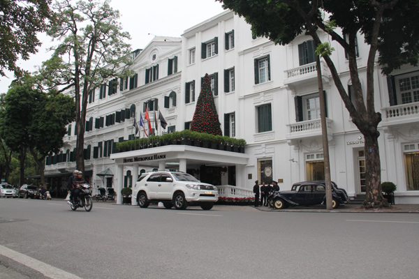 Sofitel Metrople Legend Luxury Hanoi hotel