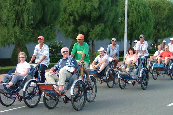 Cycling around Hanoi