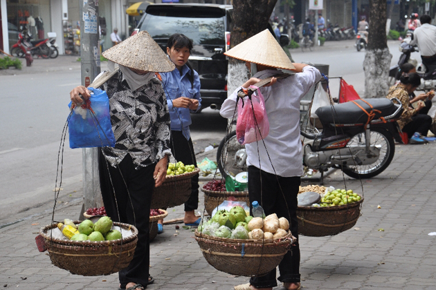 Street Vendors in Vietnam