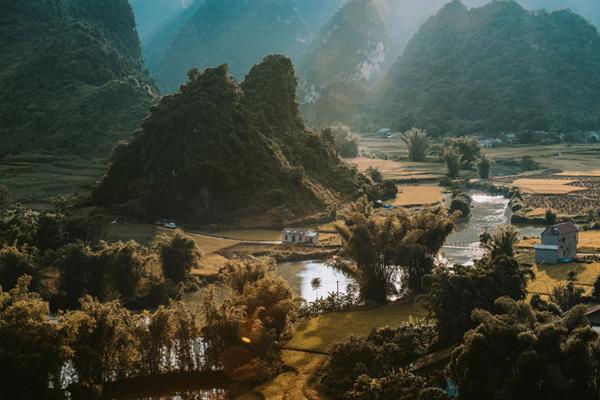 autumn in cao bang
