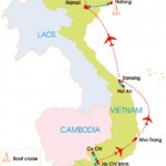 14-Day Vietnam Family Travel With Kids - Map