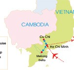 5-Day Southern Vietnam Family Tour - Map
