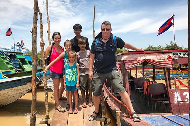 Kompong Khleang cambodia
