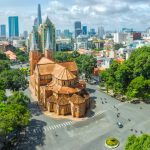 Panoramic view of Ho Chi Minh City