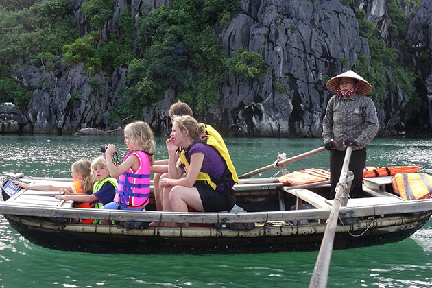 halong bay family adventure tour