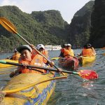 halong bay kayaking vietnam and cambodia family tours in 2 weeks