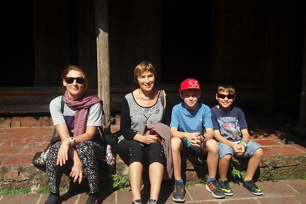 hanoi family sightseeing tour