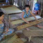 mekong delta local workshop of making mat