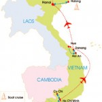 11-Day Vietnam History School Tour - Map