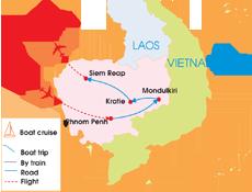 8-Day Cambodia Family Adventure Tour