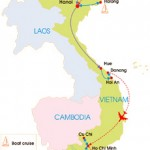 21-Day Classic Vietnam Vista tour map