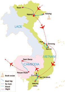 vietnam and cambodia tour in depth 21 days