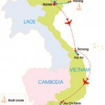 27-Day Vietnam Photo Tour - Map
