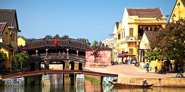 400-year-old Japanese Covered Bridge in Hoi An