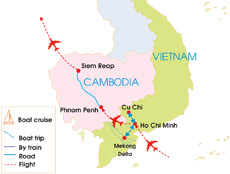 cambodia and south vietnam tours 9 days