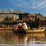 Boat trip on Tonle Sap Lake