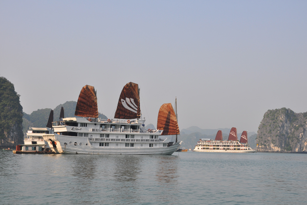 Cruise along the World Heritage - Halong Bay best 10 day tour of vietnam