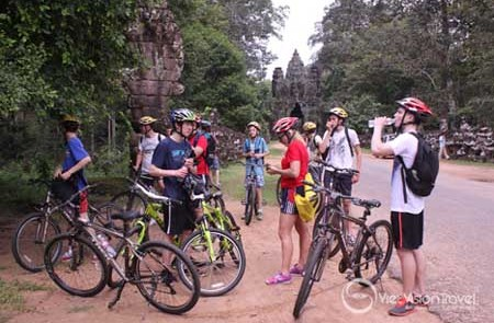 Cycling Tour in Angkor