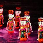 Dancing Fairies at Thang Long Water Puppet Theatre