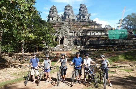 Day Trip Angkor Temple Cycling Tour