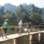 Discover the numerous hill tribe villages in Vang Vieng
