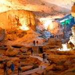 Explore Sung Sot Cave - one of the most beautiful cave in Halong Bay