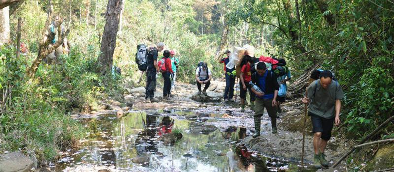 Fansipan Trekking Tour