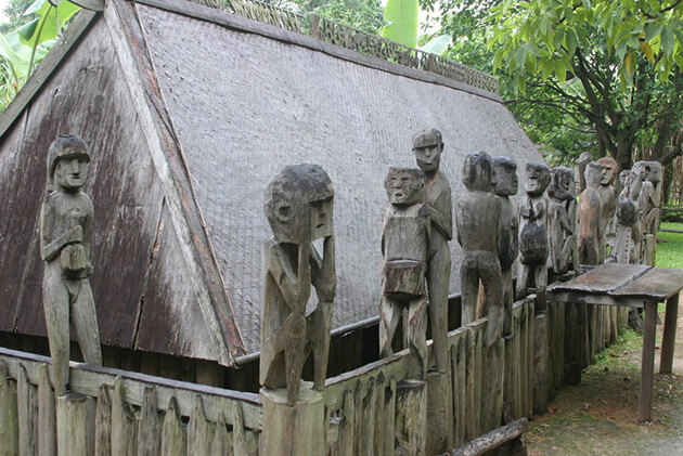 Hanoi Ethnology Museum north to south vietnam tour