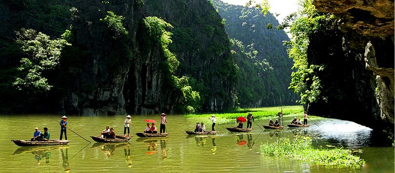 Hanoi - Trang An - Hoa Lu Tour