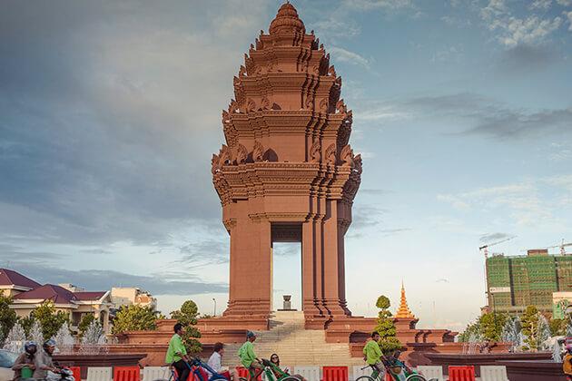 Independent monument in phnom penh