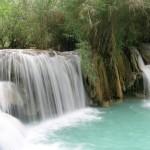 Kuang Sii Waterfall