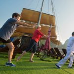 Morning Tai Chi in Halong Bay Cruise