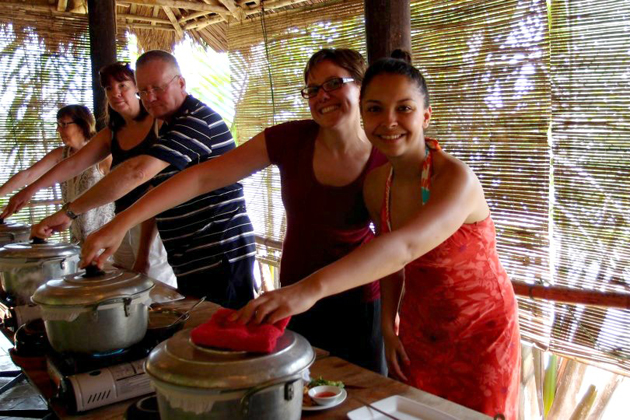 Red Bridge cooking class in Hoi An